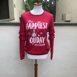NWT Disney The Happiest Holiday on Earth Sz Small